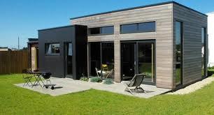 Chalet bois toit terrasse
