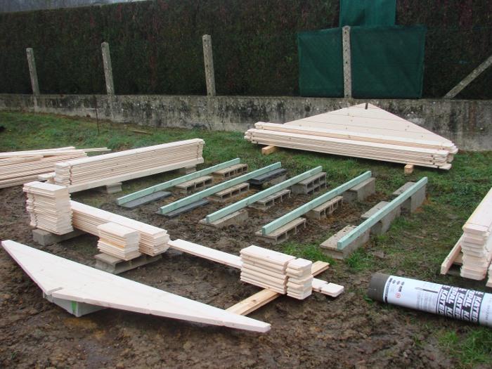 Comment poser un abri de jardin sans dalle beton ch let - Dalle en beton pour abri de jardin ...