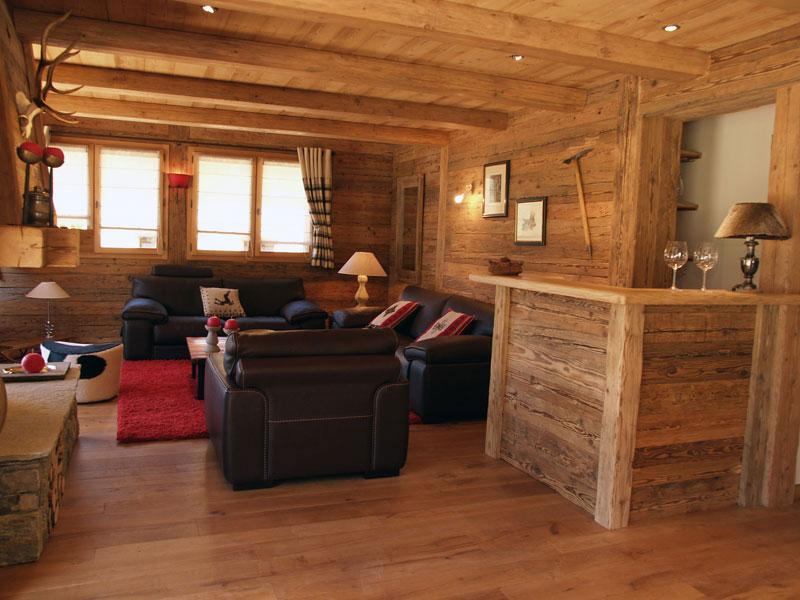 Interieur chalet bois photos - Châlet, maison et cabane