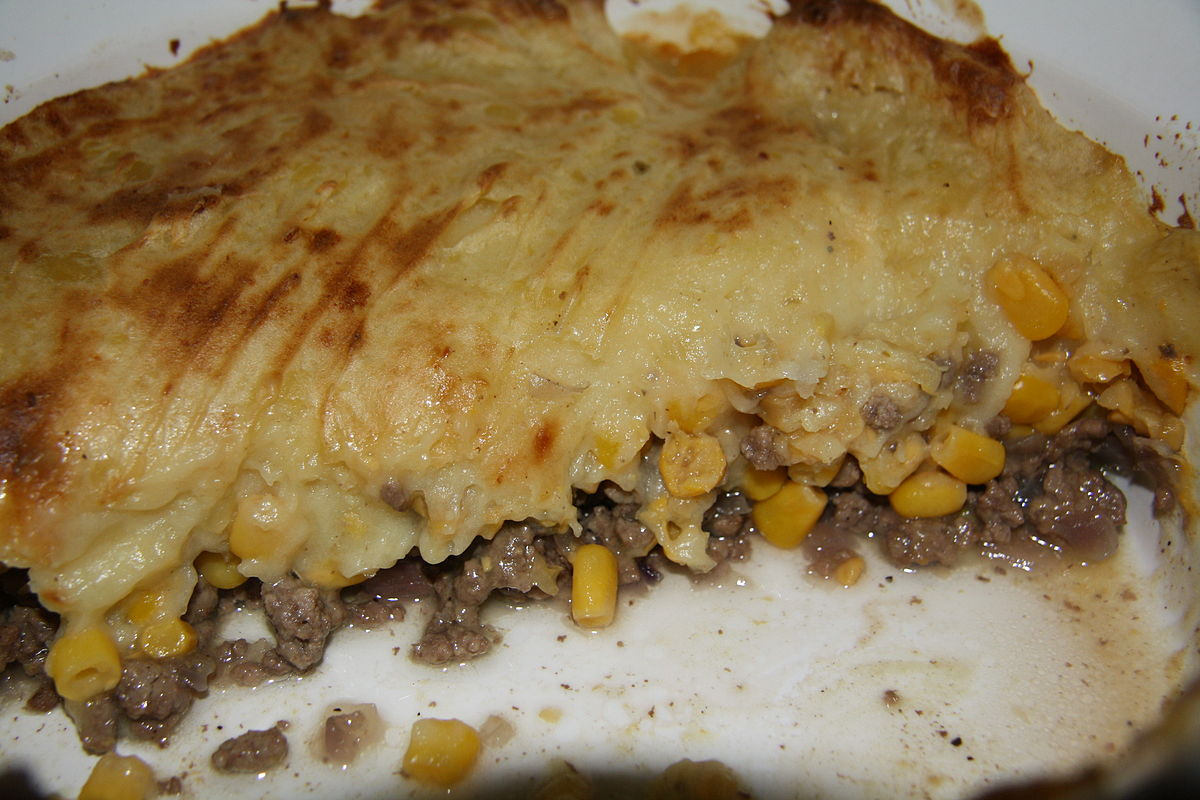 Traduction cottage pie