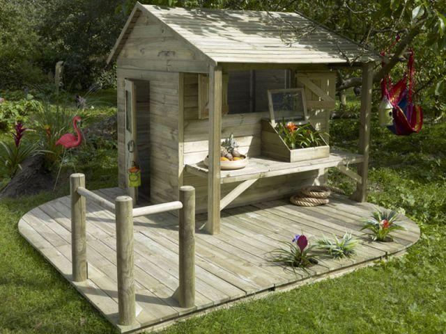 Cabane jardin castorama