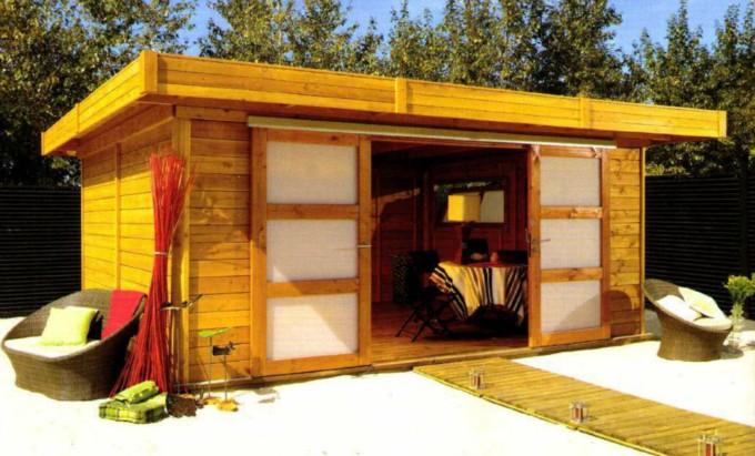 Cabane de jardin de 20m2