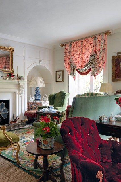 Fauteuil cottage anglais