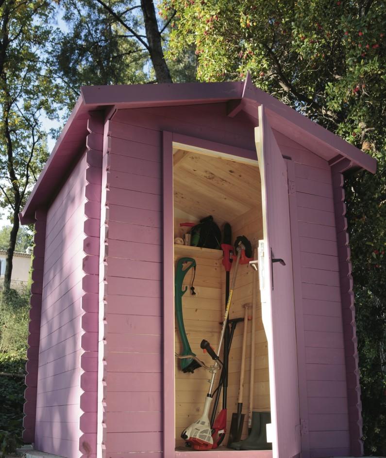 Cabane pour outils de jardin