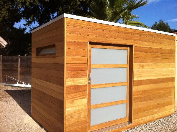 Abri jardin bois gardival - Châlet, maison et cabane