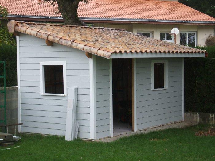 super populaire 70ad7 07872 Abri jardin toit une pente - Châlet, maison et cabane