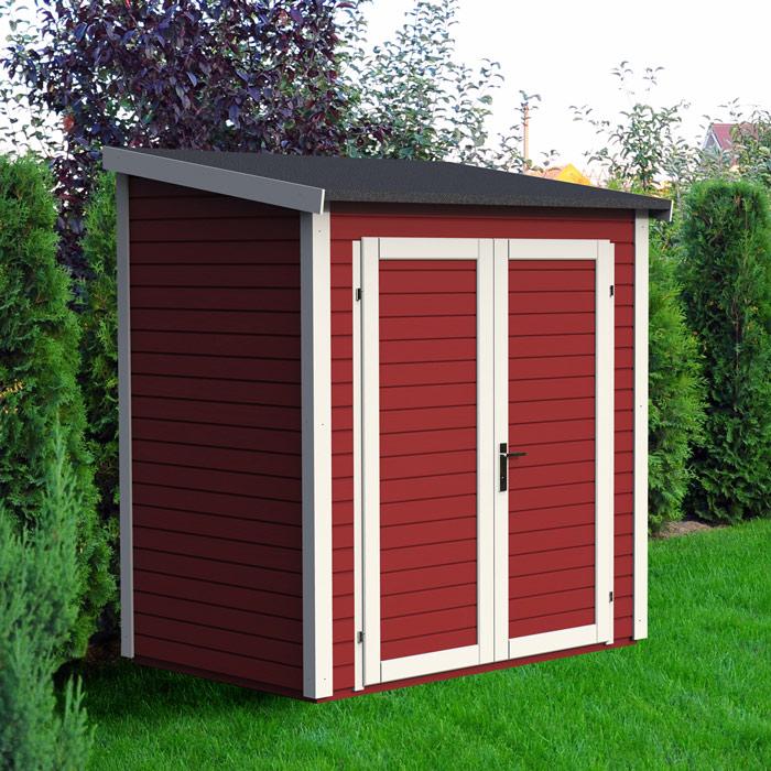 Abris de jardin resine ou bois - Châlet, maison et cabane