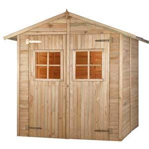 Abri jardin en bois bricomarché - Châlet, maison et cabane
