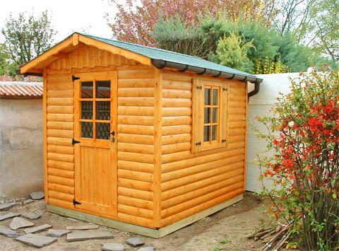 Chalet de jardin en rondin de bois - Châlet, maison et cabane