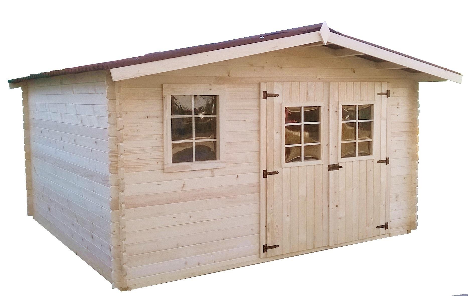 Chalet de jardin declaration - Châlet, maison et cabane