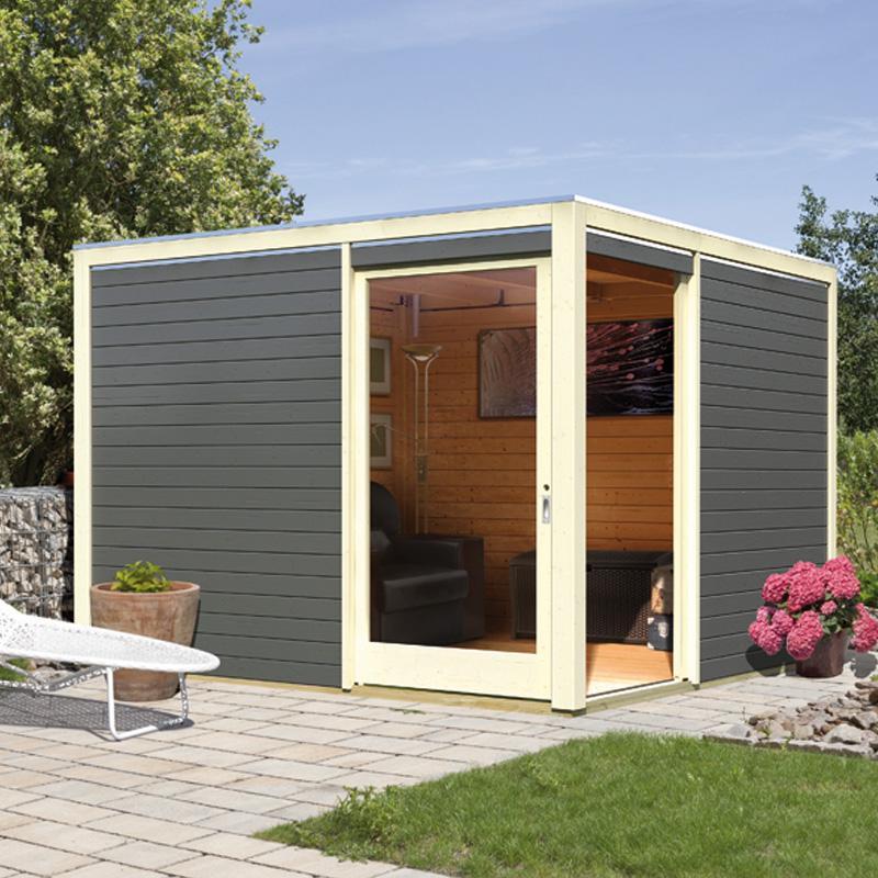 Abri de jardin resine toit plat - Châlet, maison et cabane