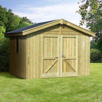 Abri de jardin en bois direct usine - Châlet, maison et cabane