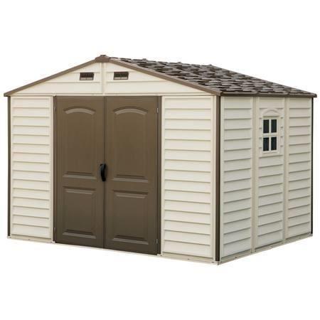 abri jardin plastique pvc ch let maison et cabane. Black Bedroom Furniture Sets. Home Design Ideas