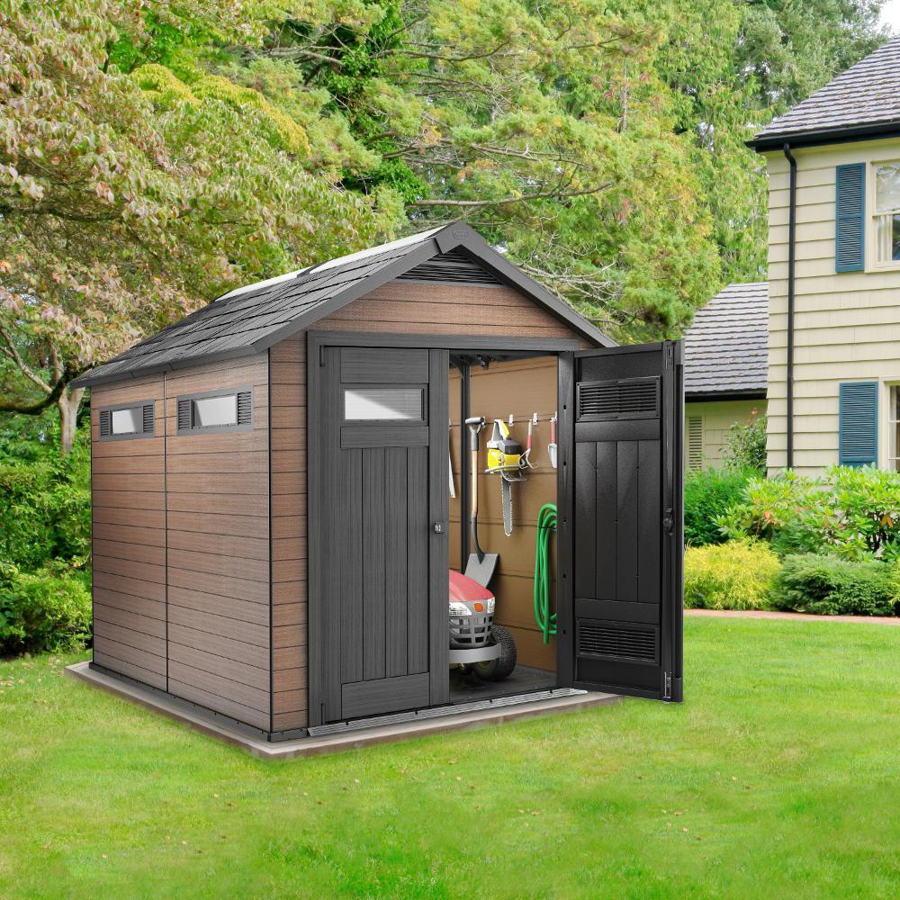 Abri de jardin avec plancher - Châlet, maison et cabane