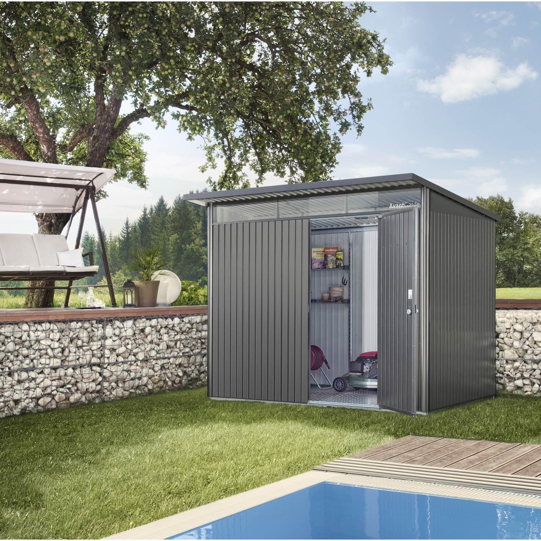 Abri jardin leroy merlin metal - Châlet, maison et cabane
