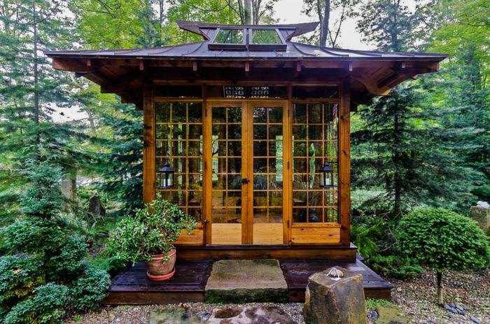 Chalet de jardin original - Châlet, maison et cabane