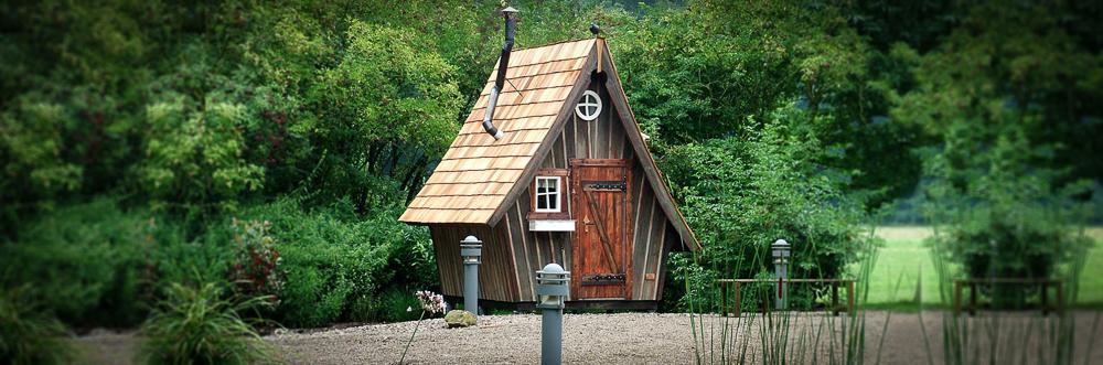 Abri jardin bois original