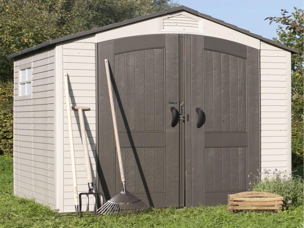 Abri jardin resine texas 65 - Châlet, maison et cabane