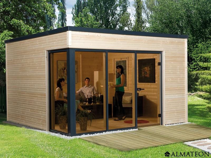 Chalet de jardin design habitable - Châlet, maison et cabane