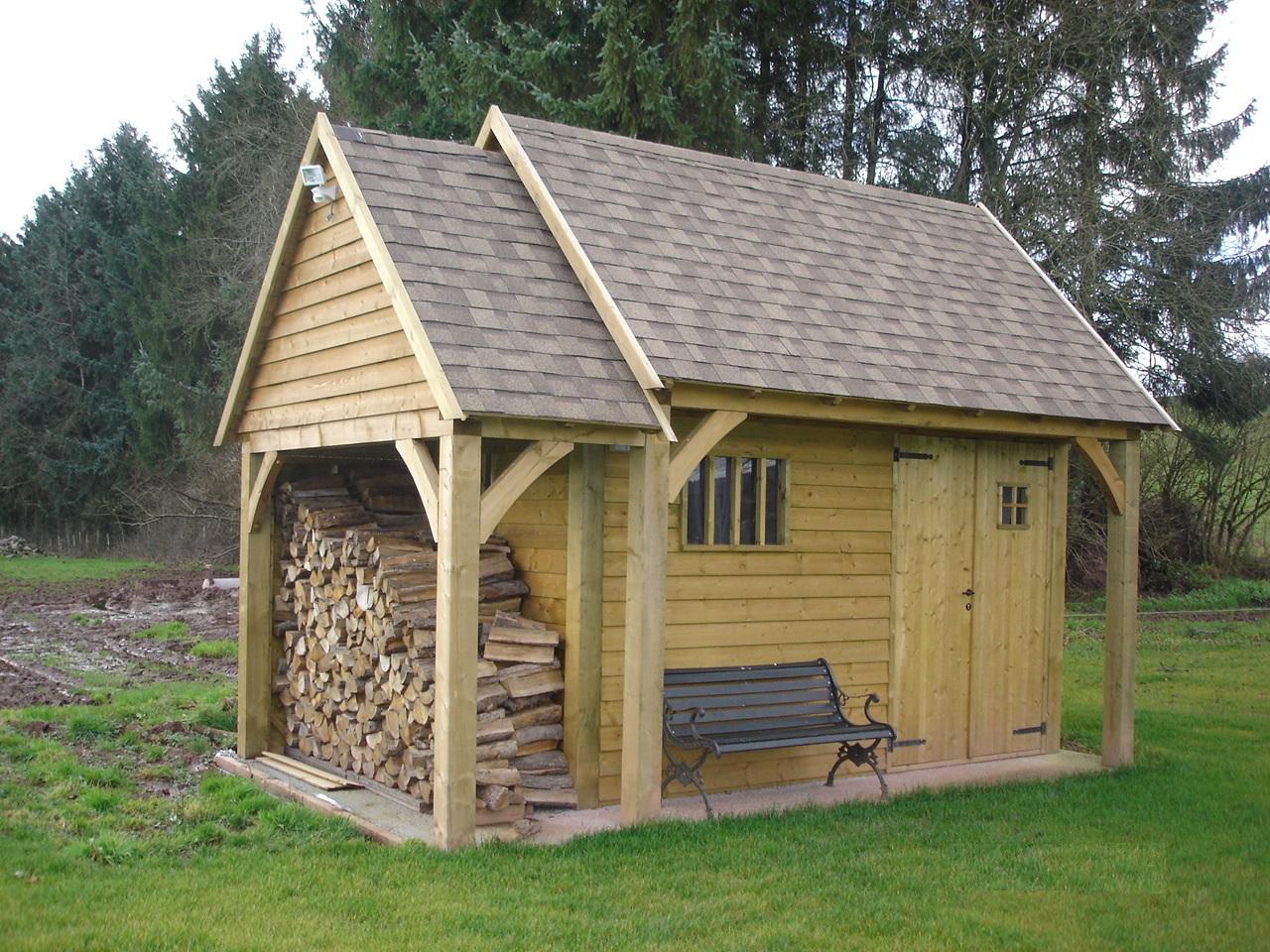 Abri jardin bois belgique - Châlet, maison et cabane