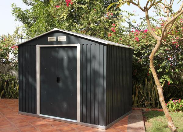 Abris de jardin metal condensation - Châlet, maison et cabane