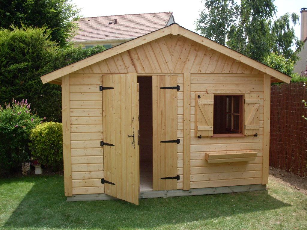 Abri de jardin en bois d'occasion