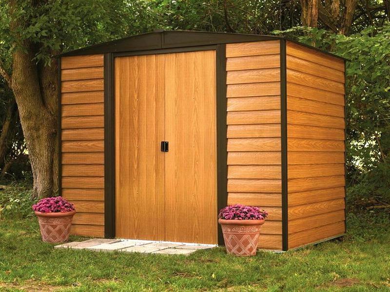 prix compétitif 22261 e38d7 Abri de jardin imitation bois - Châlet, maison et cabane
