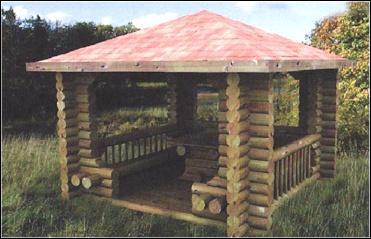 Abri de jardin kiosque - Châlet, maison et cabane