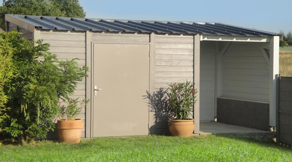 abri de jardin 20m2 beton ch let maison et cabane. Black Bedroom Furniture Sets. Home Design Ideas
