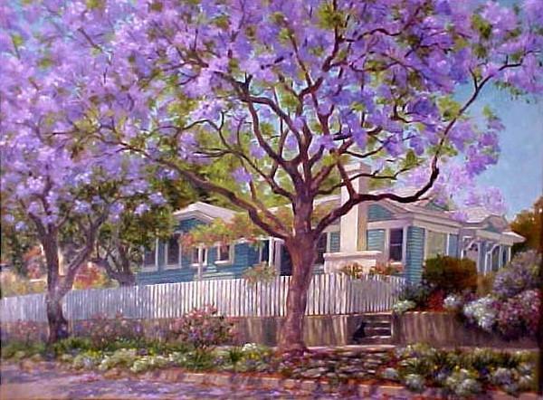 Cottage anglais fleuri
