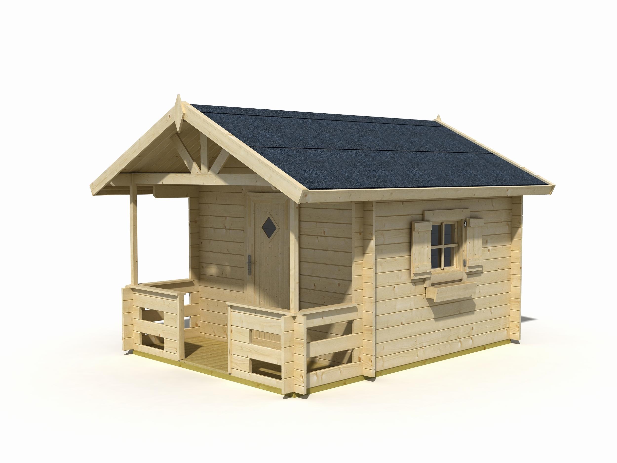 abri de jardin avec terrasse pas cher ch let maison et. Black Bedroom Furniture Sets. Home Design Ideas