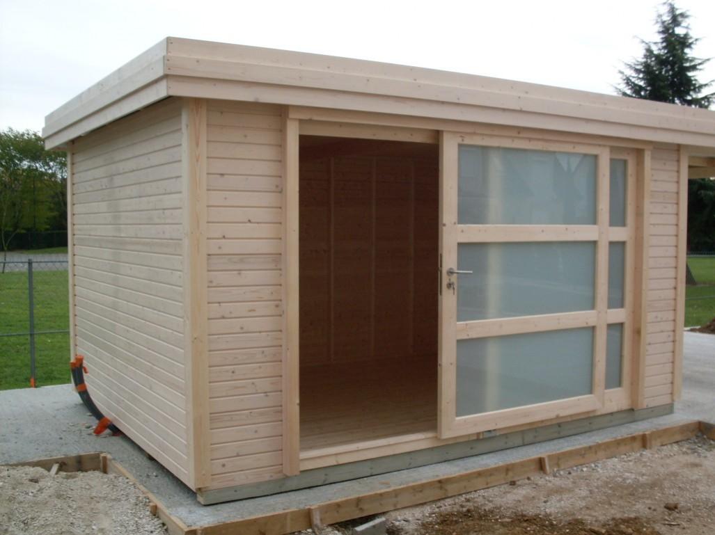 Cabane de jardin bois design ch let maison et cabane - Cabane de jardin design ...