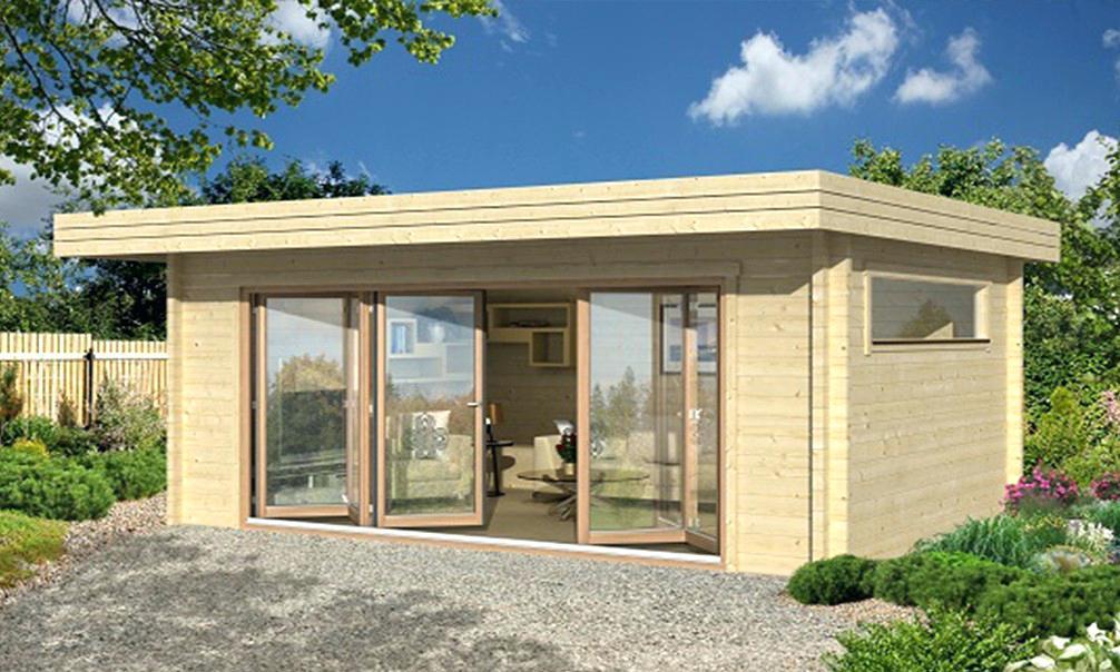 Abri de jardin \'design\' serrano - Châlet, maison et cabane