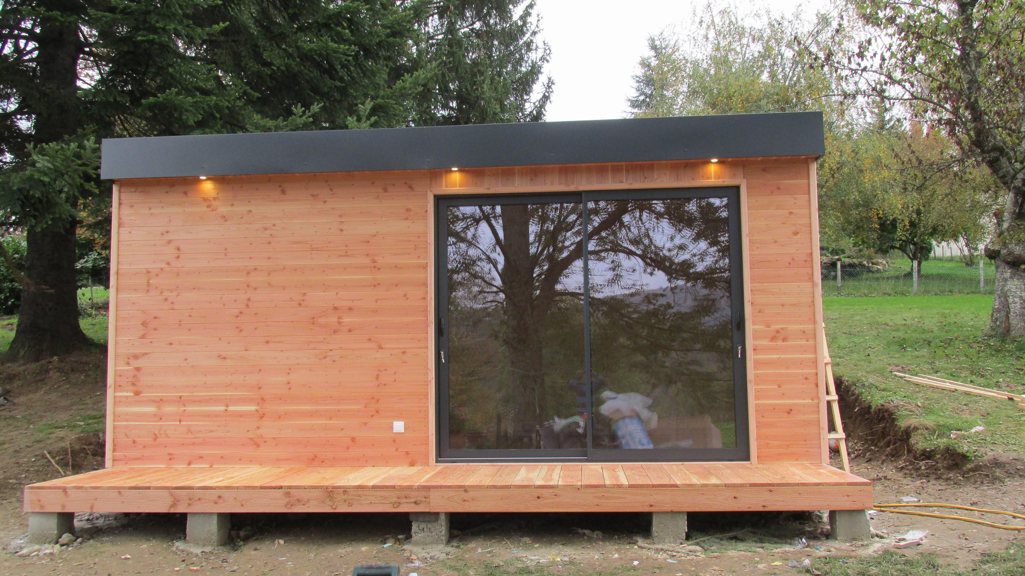 Construire une cabane de jardin pas cher ch let maison - Cabane en bois de jardin pas cher ...