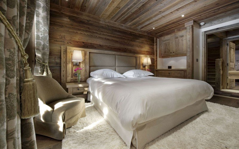 Emejing Chambre Style Chalet Montagne Contemporary - House ...
