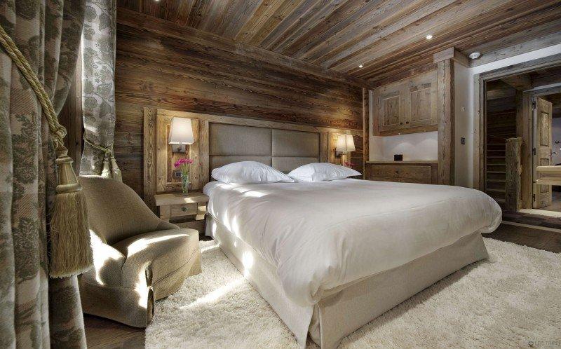 Chalet en bois une chambre