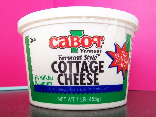 Cottage cheese en anglais