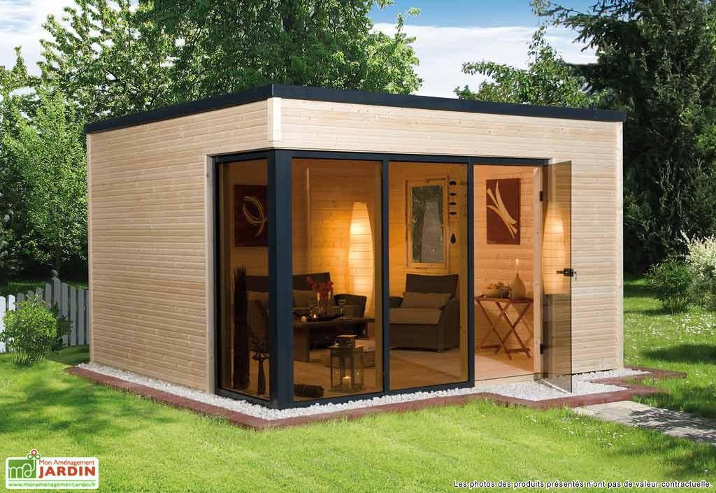 abri de jardin en bois sans permis de construire ch let. Black Bedroom Furniture Sets. Home Design Ideas