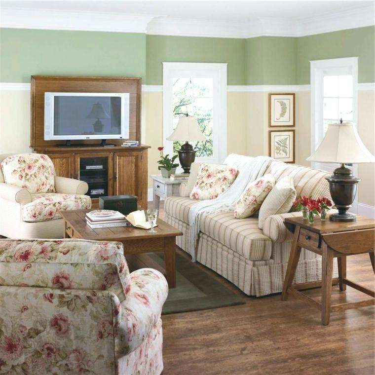 Chambre cottage anglais