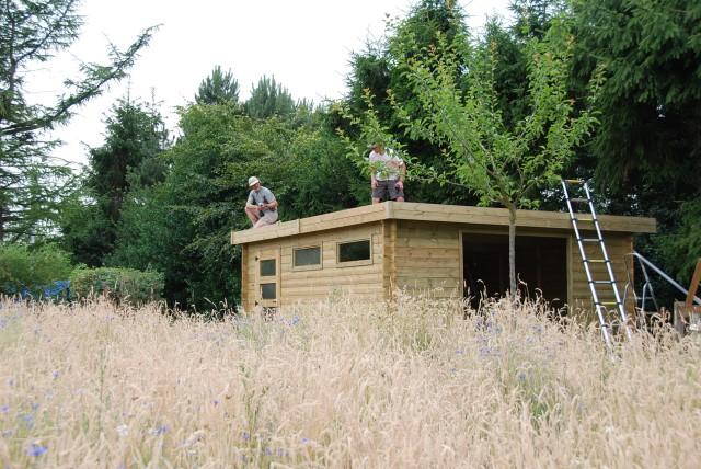 Un abri de jardin est il considéré comme une construction