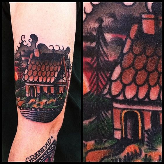Cottage tattoo