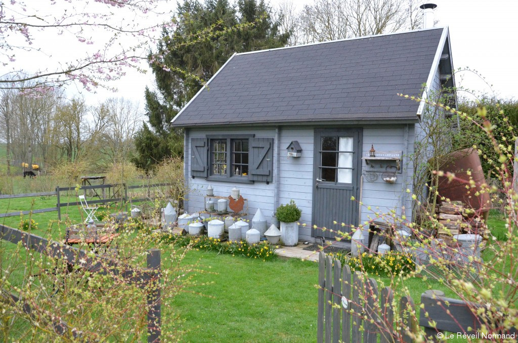 Cabane de jardin insolite - Châlet, maison et cabane