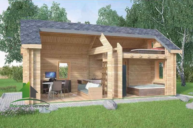 Abri de jardin habitable castorama - Châlet, maison et cabane