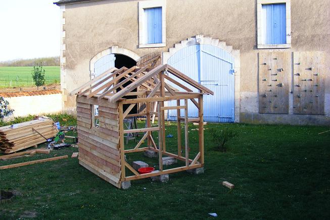 comment fabriquer un abri de jardin en bois - châlet, maison et cabane