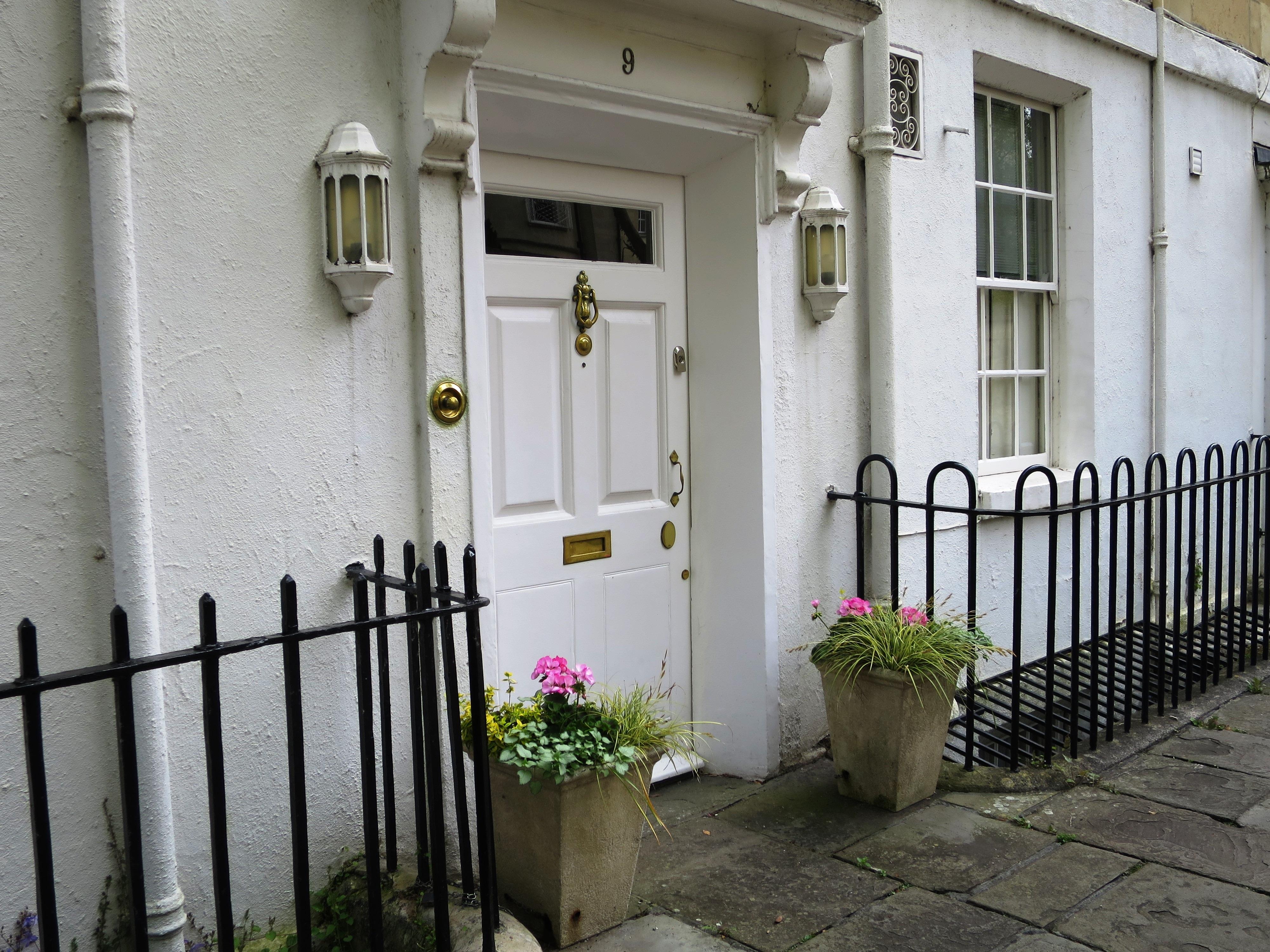 Facade cottage anglais