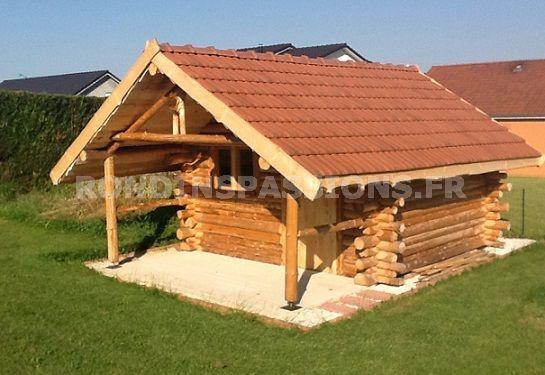 Chalet de jardin rondin - Châlet, maison et cabane