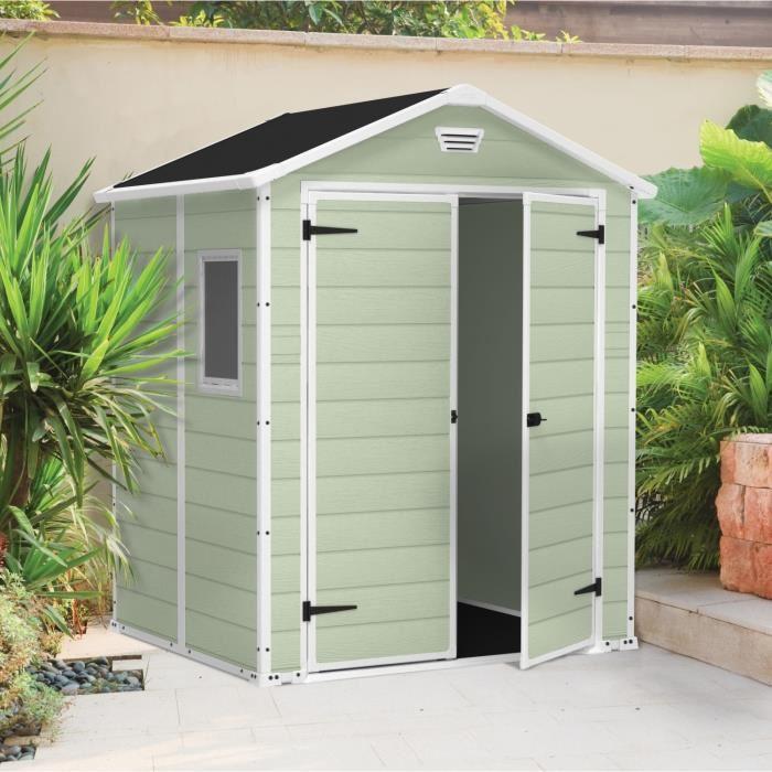 Abri de jardin métal abri vert - 2.3 m2