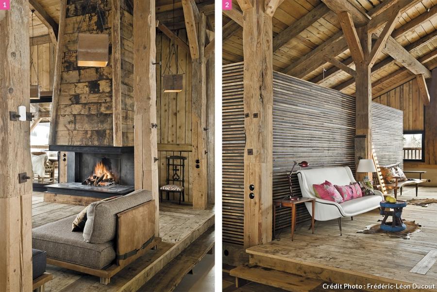 chalet montagne cosy ch let maison et cabane. Black Bedroom Furniture Sets. Home Design Ideas