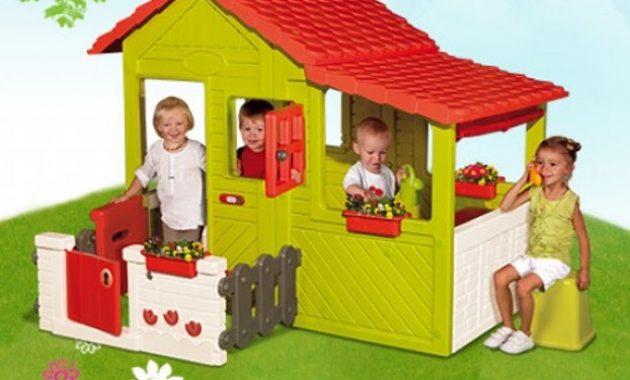 Cabane de jardin smoby occasion - Châlet, maison et cabane