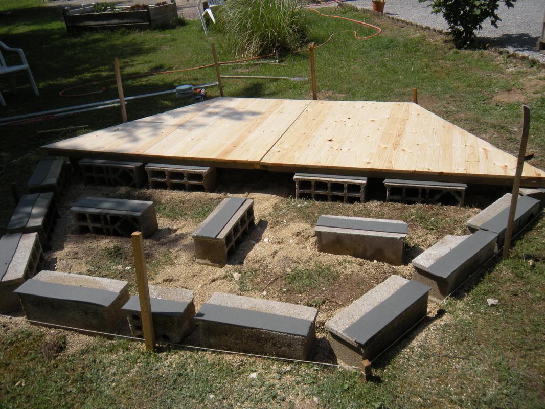 Quel socle pour abri de jardin - Châlet, maison et cabane